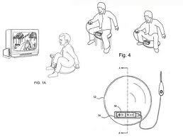 Wii Saddle Patent Drawing
